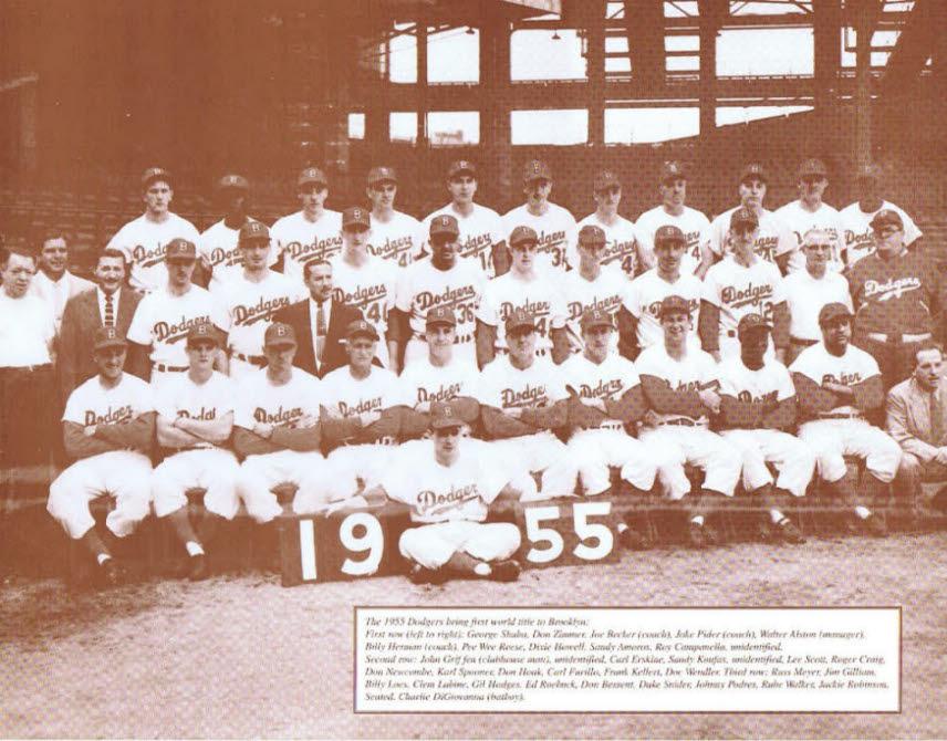 Dodgers / 1955 Dodgers Team