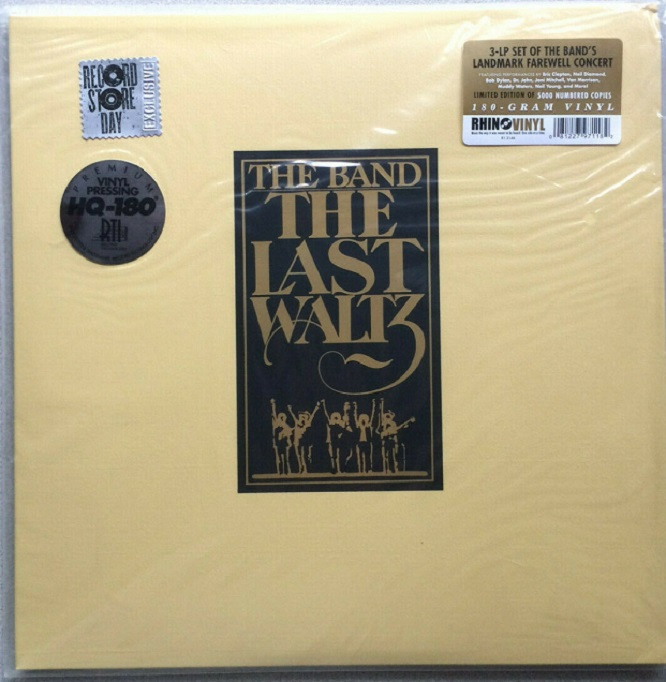 The Band / The Last Waltz RSD 2013 Limited Edition