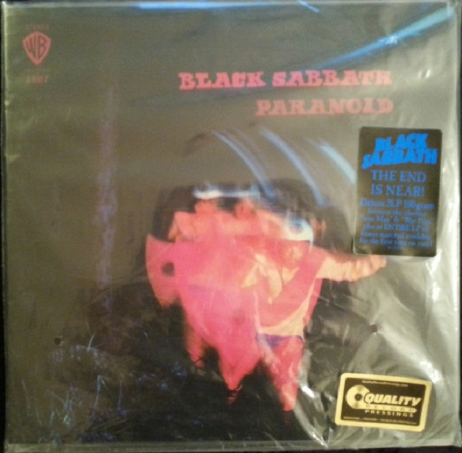 Black Sabbath / Paranoid Deluxe 2 LP Edition