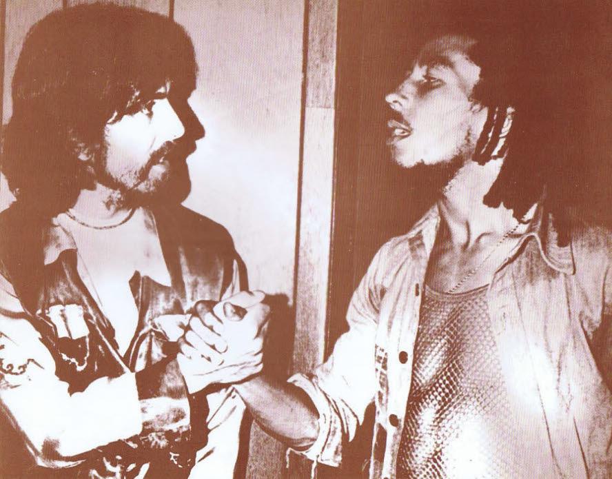 George Harrison/Bob Marley / Handshake