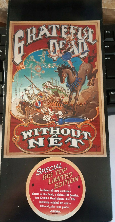 Grateful Dead / Without A Net Special Big Top Limited Edition