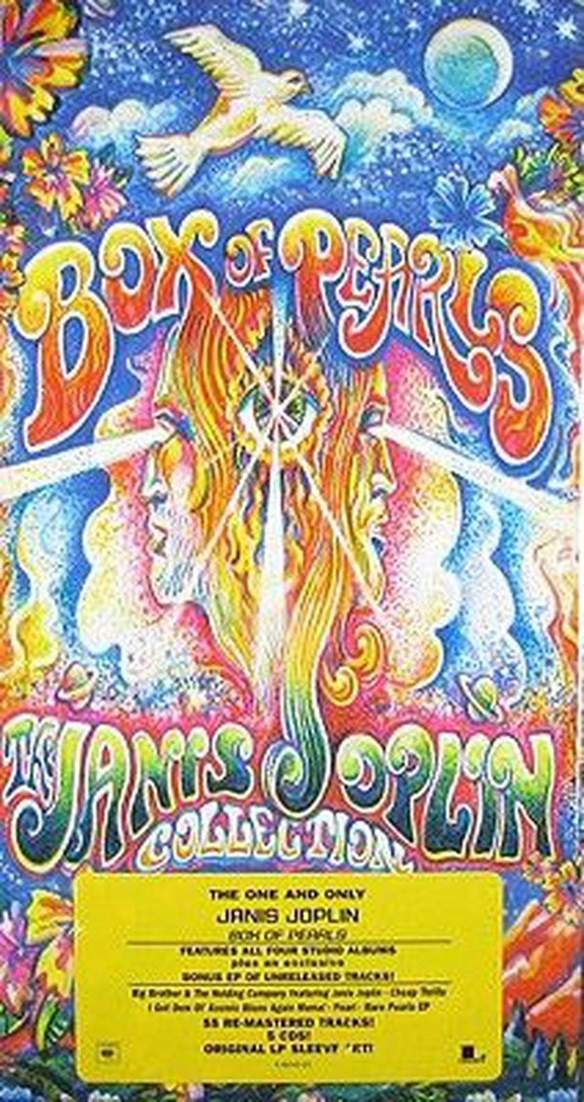 Janis Joplin / Box Of Pearls 5 CD Box Set