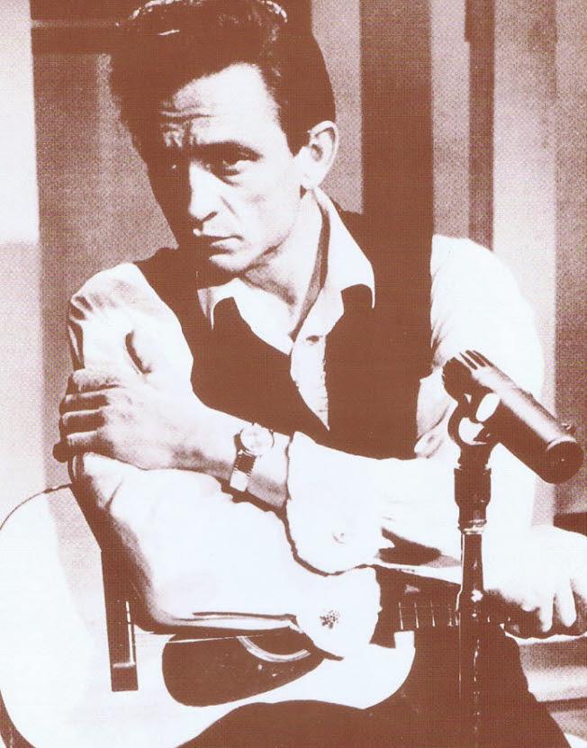 Johnny Cash / Cash with Guitar