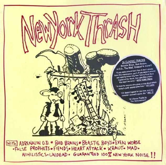 New York Thrash / Beastie Boys, Bad Brains, Adrenaline O.D., Etc…
