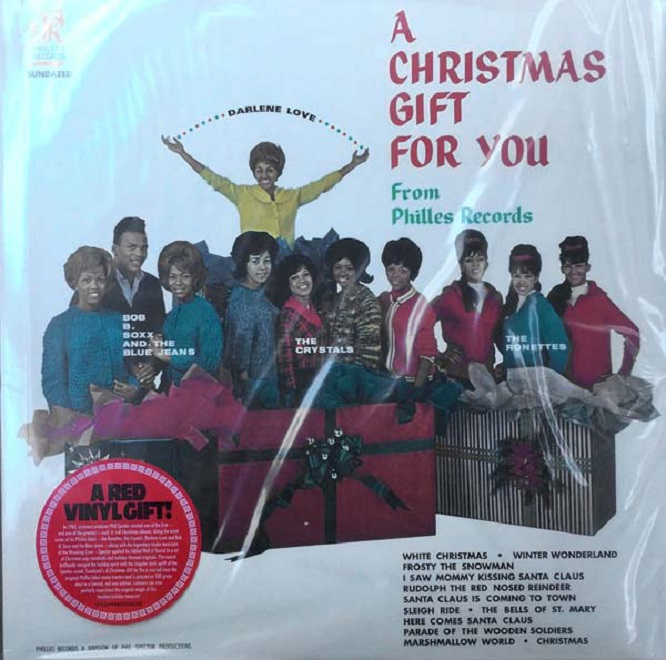 Phil Spector / A Christmas Gift For You Limited Edition Red Vinyl
