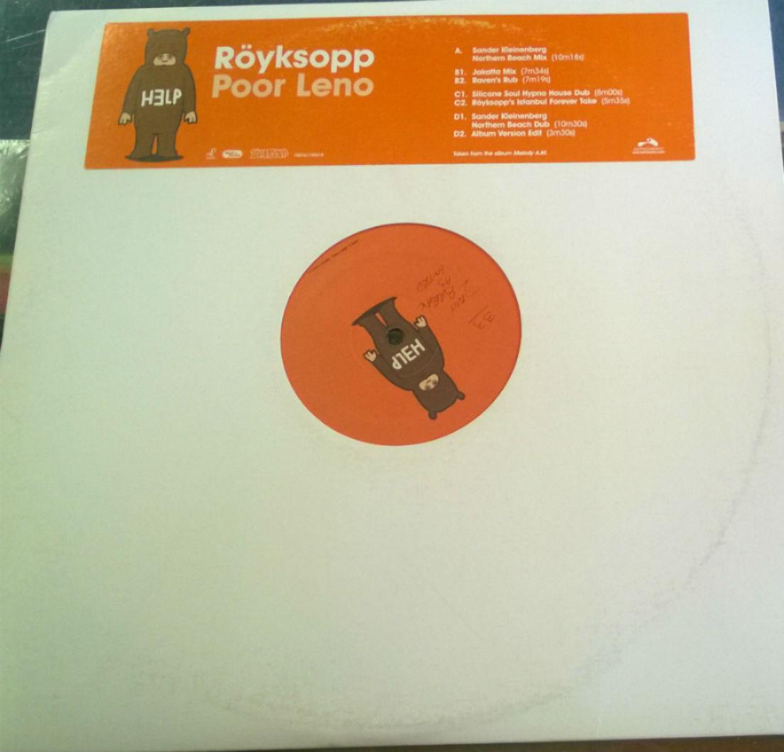 Royksopp / Poor Leno