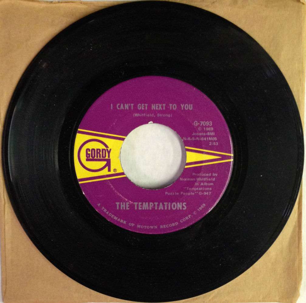 Temptations / I Can't Get Next To You