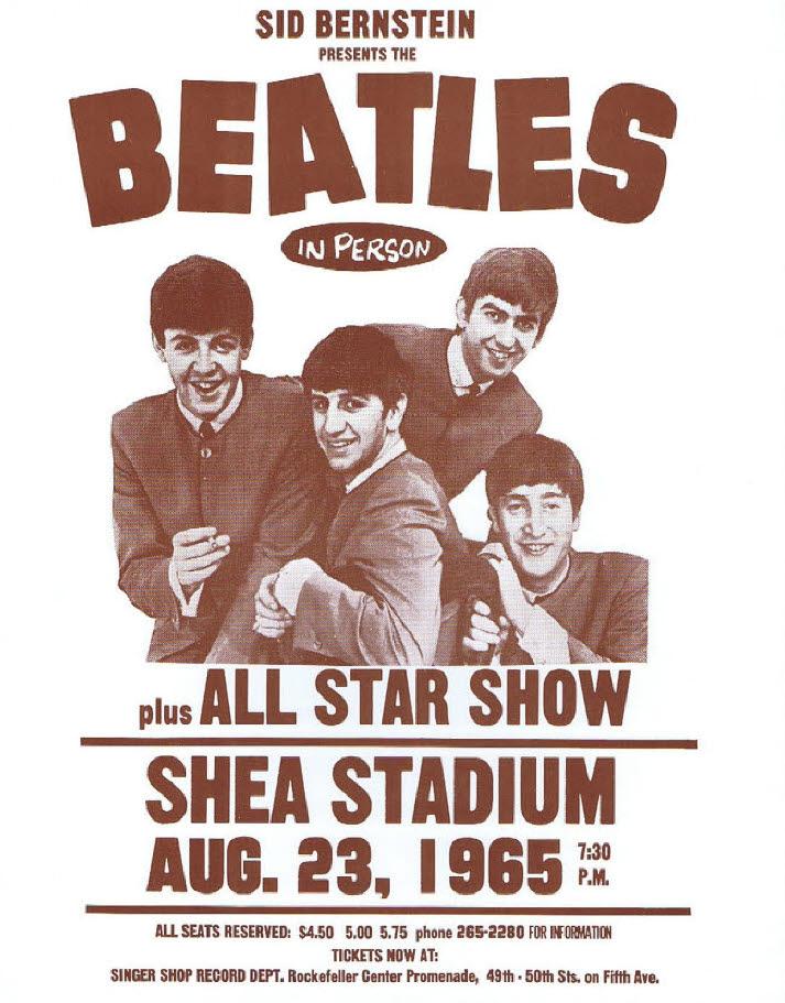 Beatles / At Shea Stadium