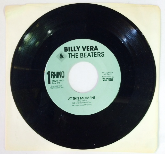 Billy Vera And The Beaters / At This Moment