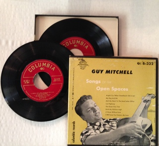 Songs of the open spaces box set ep by Guy Mitchell, SP with