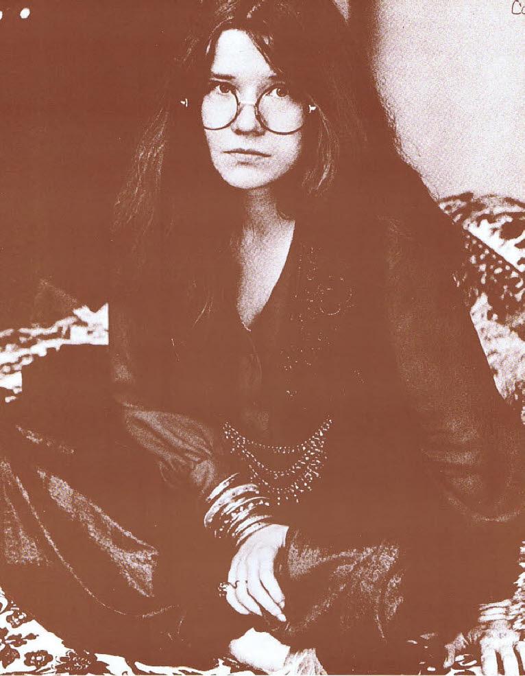 Janis Joplin / Janis Sitting