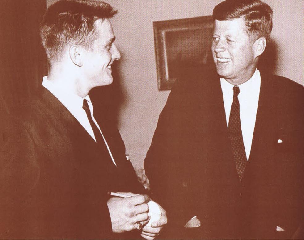 JFK & Roger Maris / JFK & Roger Maris