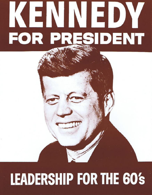 John F Kennedy / For Prez