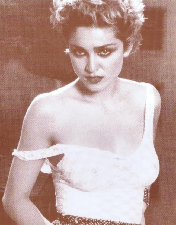 Madonna / See thru Top