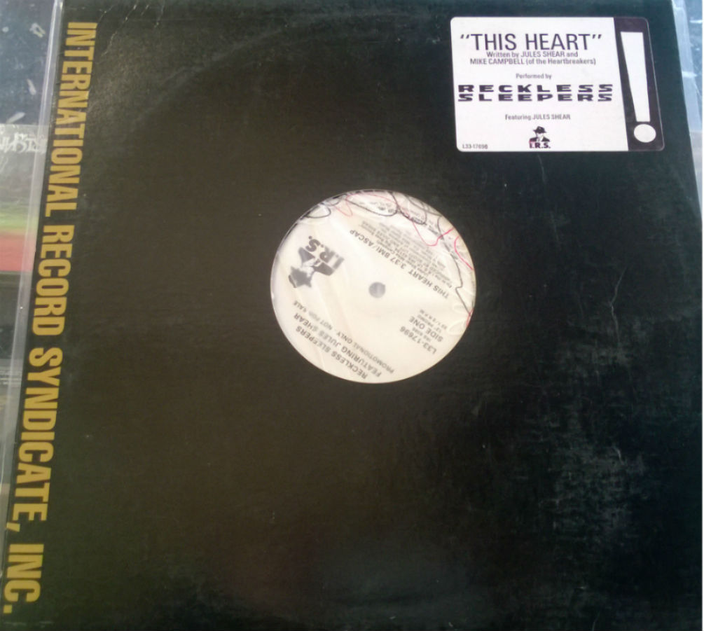 Reckless Sleepers Feat. Jules Shear / This Heart